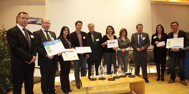 Lauréat du prix éco-entreprises 2012