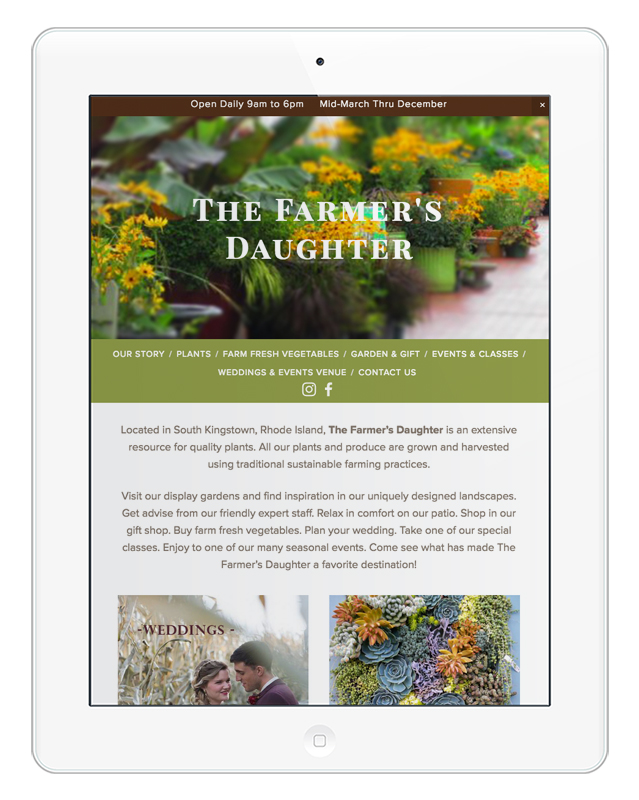 The Farmers Daughter / Farmer's Garden Market