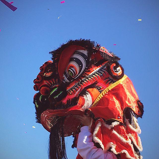 Surprise Chinese New Year celebration. #cranstonri #yearofthedog