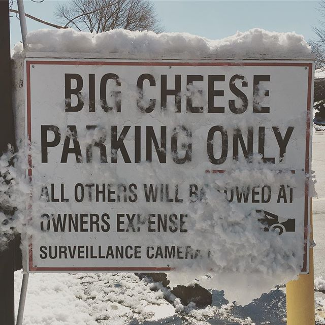 Big cheese is watching you