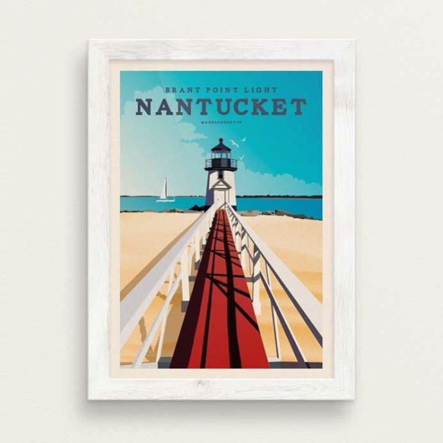 "Thanks for the kind words! ★★★★★ ""Great print, bright colours and high quality paper. "" Gail S. #etsy #giclee #travel #nantucket https://etsy.me/2JDzrfs"