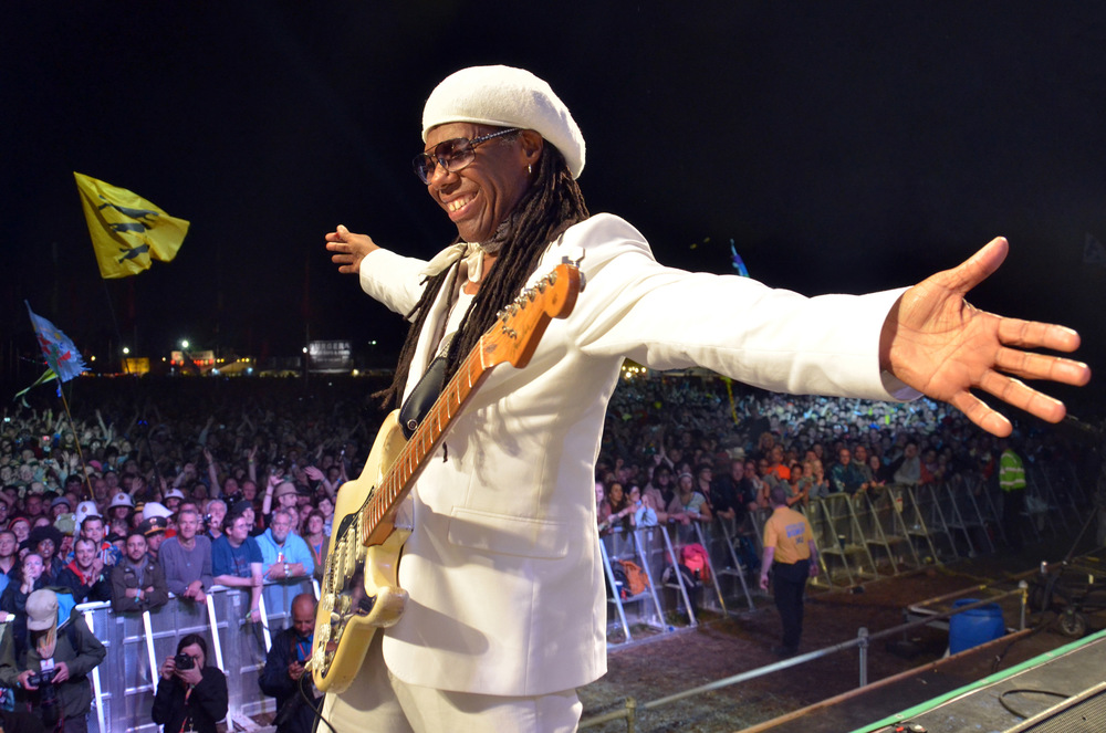 Chic Ft. Nile Rodgers Glastonbury 2013