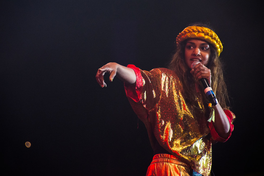 M.I.A. - Glastonbury 2014