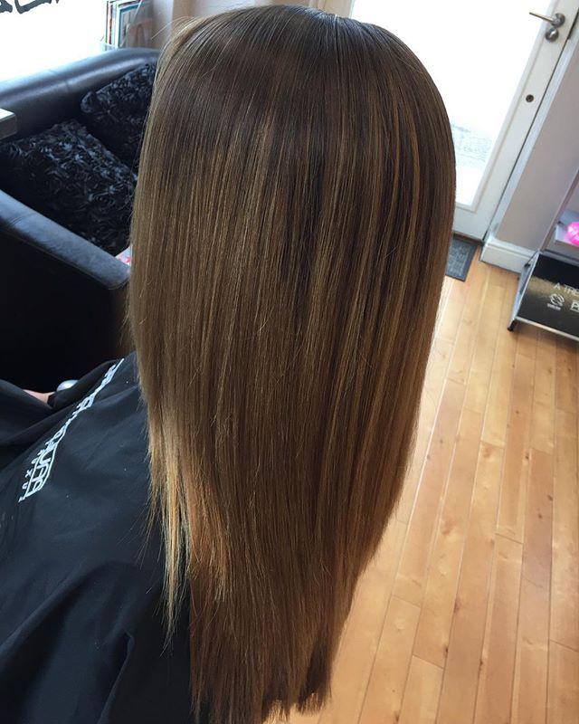 Millie's new hair cut and colour, by Aleena our senior stylist #thatblendtho #bizzaz #hair #bizzazhair #paulmitchell #noanimaltesting #crueltyfree #pm #xg #color #xgcolor #exeter #devon #ombre #ombrehair #loveit #newhair #seniorstylist