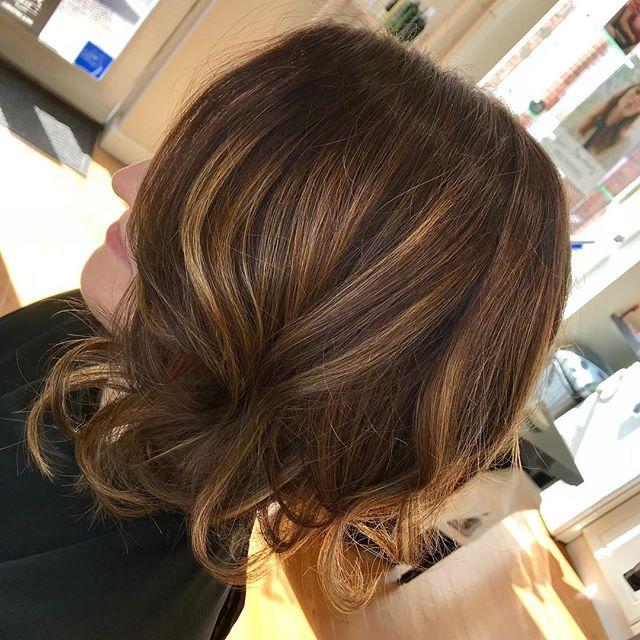 Erika's new hair colour by Aleena 😍 #bizzaz #hair #bizzazhair #exeter #devon #veganhaircare #vegancolour #pm #paulmitchell #xgcolor
