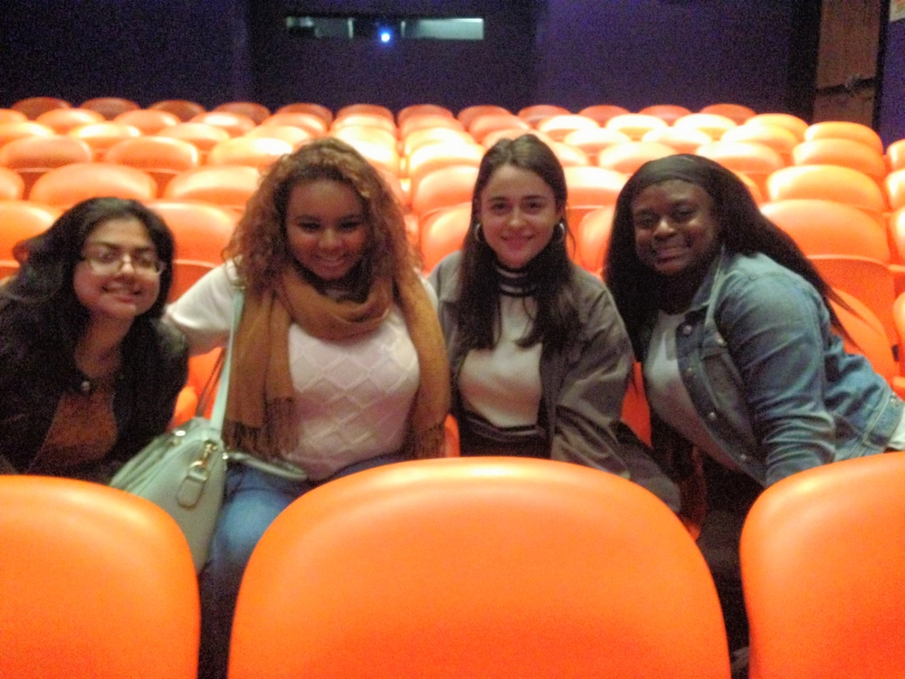 BALI Girls enjoying their VIP seating and post show talkback with the Writer and Director!