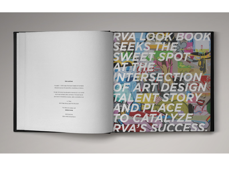 RVA Look Book title page