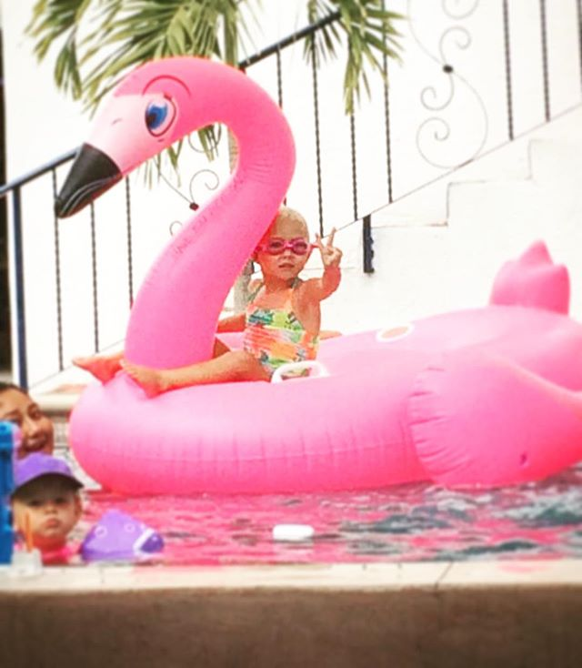 Bring your kids! #labohemia #kidfriendly #todossantos #poolparty