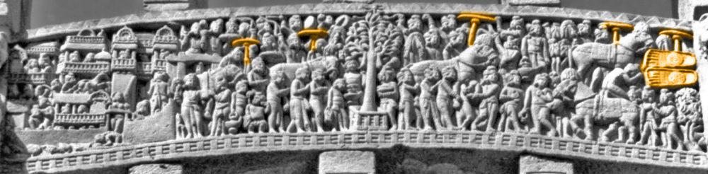 Image edited to highlight the Buddha's presence.