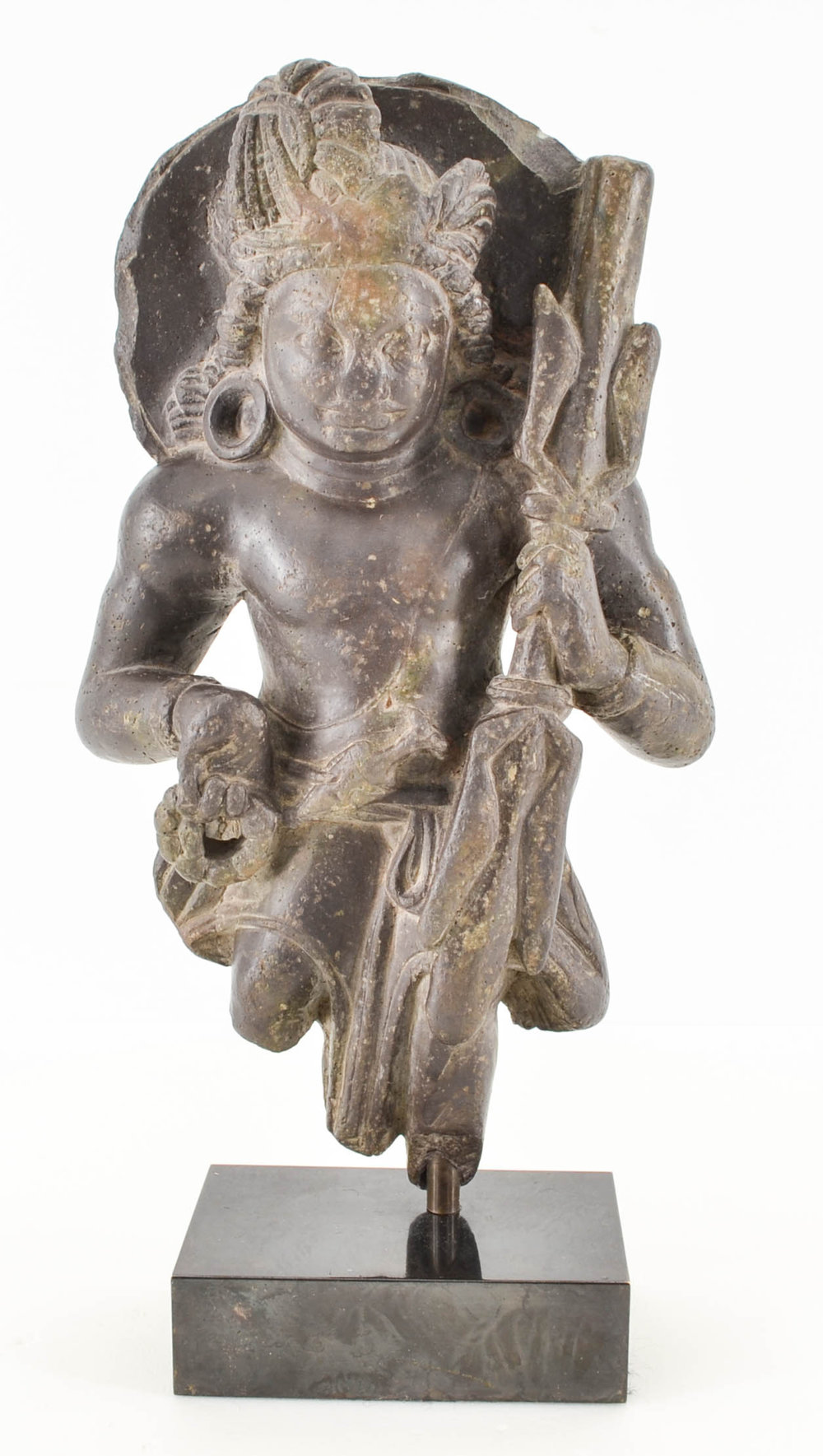 Vajrapani. Late 6th-7th century. Kashmir. Image courtesy of  The Met .