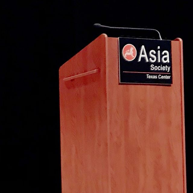 Thanks for hosting us, #Houston! . . . #asiasocietytexascenter #texas #petersellars #dunhuangfoundation #dunhuang #buddhism #vimalakirti #sutra
