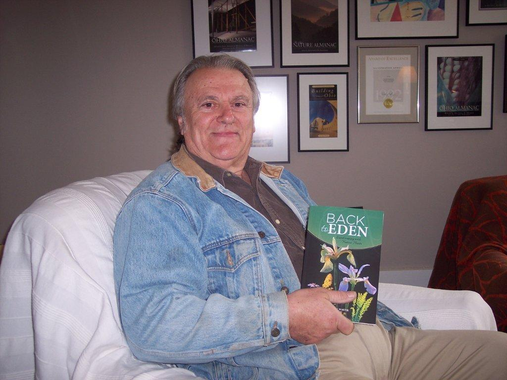 Dr. Frank Porter in our author chair