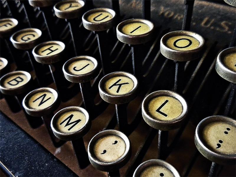 typewriter, writing routines that work