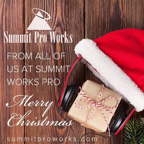 We wish each of you a very Merry Christmas and a Happy New Year. Thank you for your loyal support to Summit Pro Works!