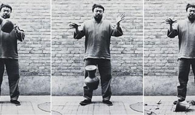 Ai Wei Wei couldn't give a fuck about your art