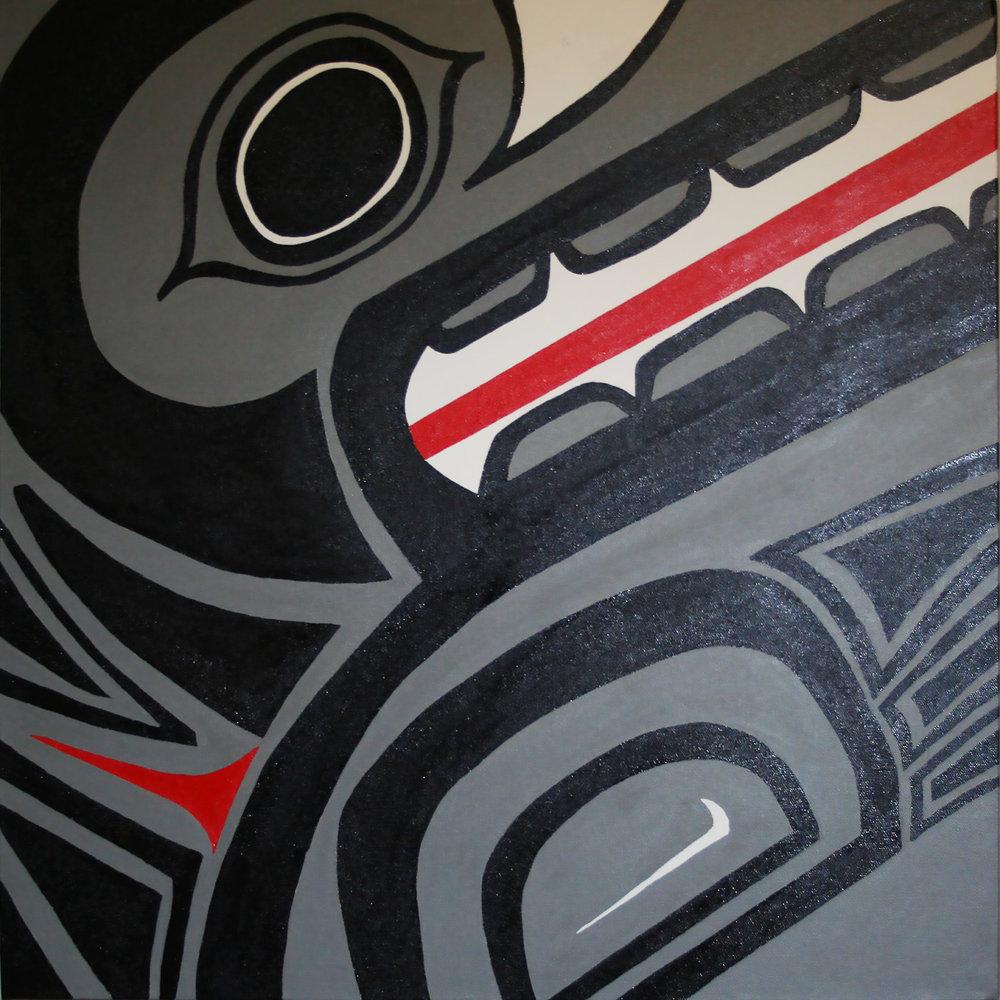 Haida Wolf Gray