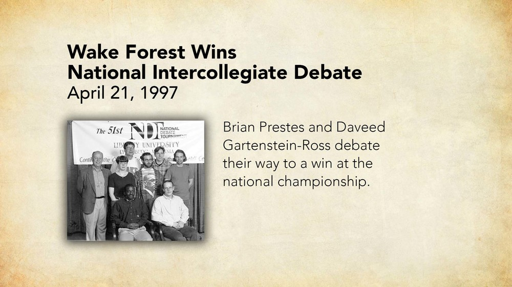 1997 - Wake Forest Wins National Intercollegiate Debate.jpg