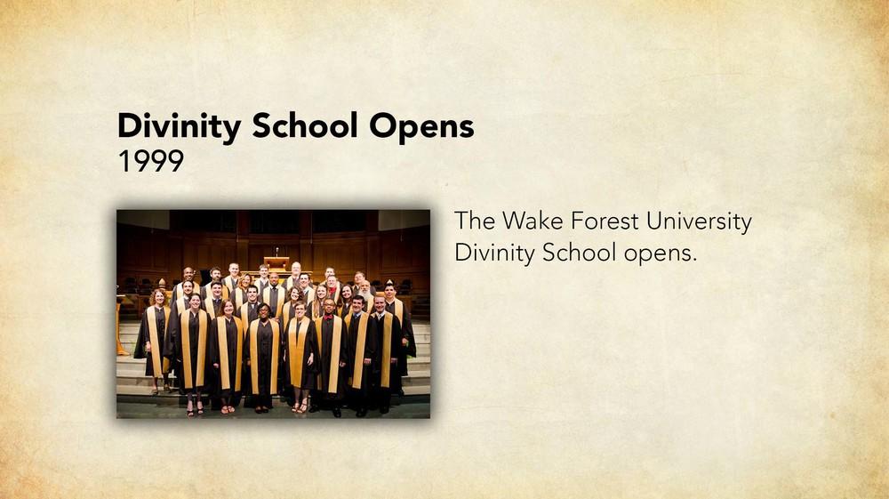 1999 - Divinity School Opens.jpg
