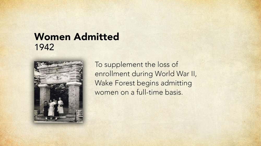 1942 - Women Admitted.jpg