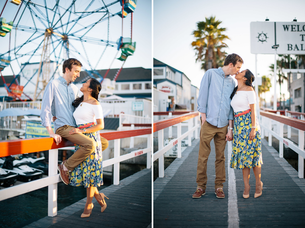 Newport Beach Balboa Fun Zone Engagement Krizia and Ben-3.jpg