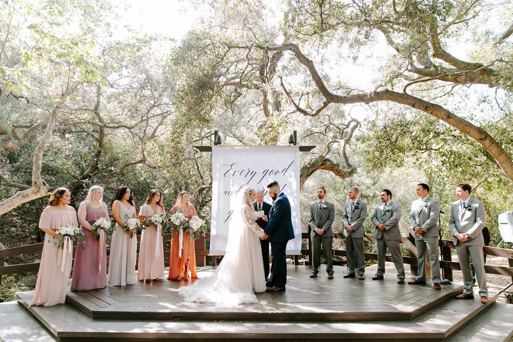 Oak Canyon Nature Center Hidden House Coffee Wedding Annie