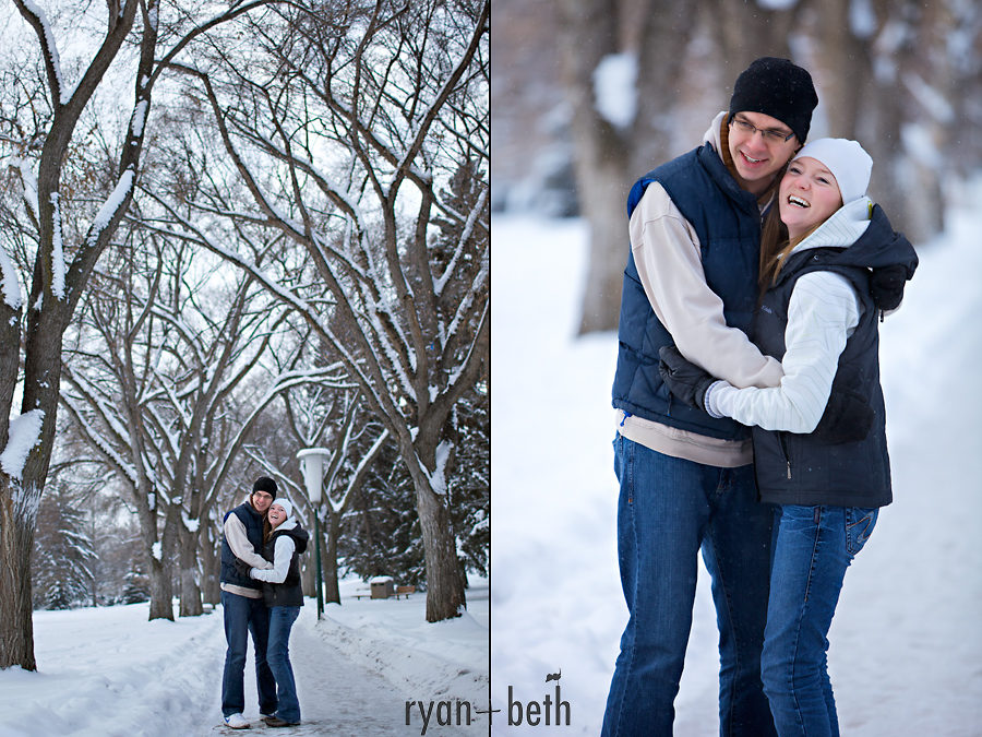 River Valley Engagement Session Edmonton