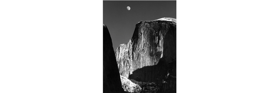 Ansel-Adams-Moon-Half-Dome