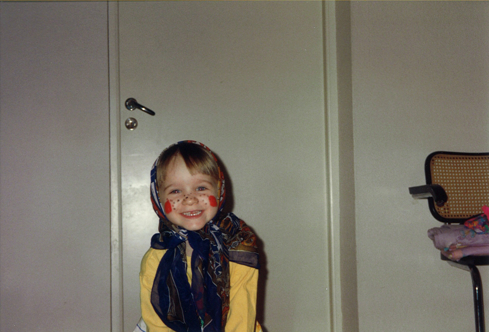 Me as a young Easter witch