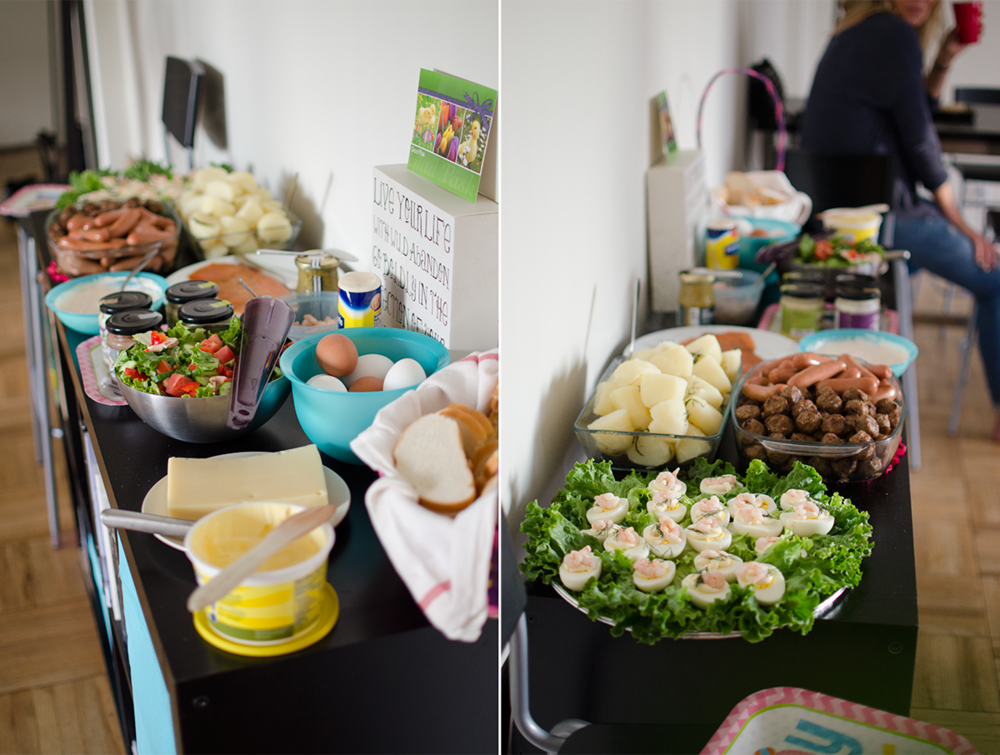 Parts of the Easter smorgasbord