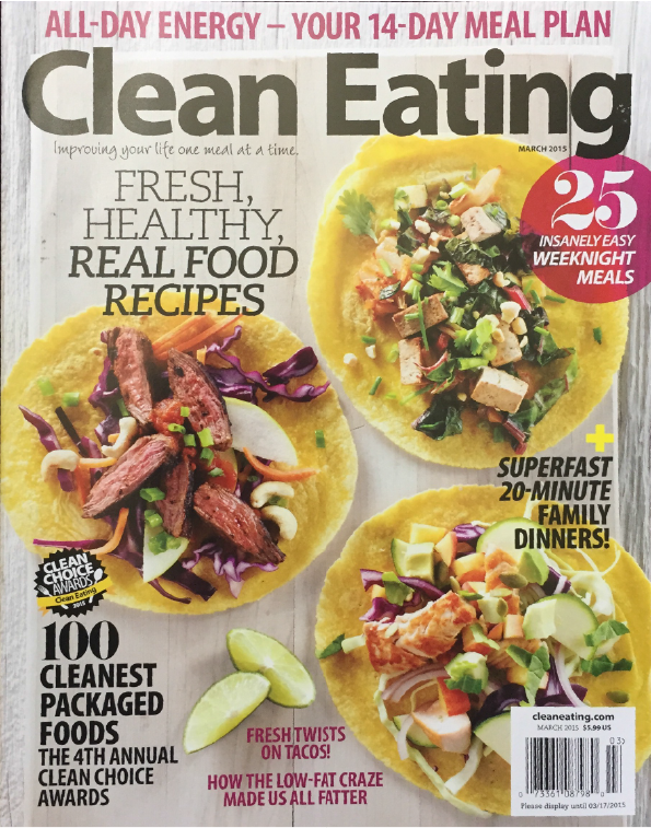 Clean Eating - March 2015