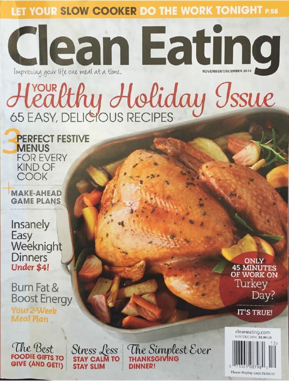 Clean Eating - November 2014