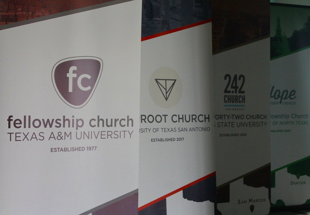 Church Planting Promotion | Free Standing Banners