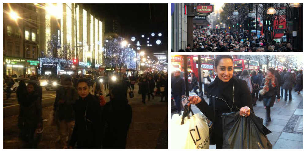 Boxing Day Oxford Street