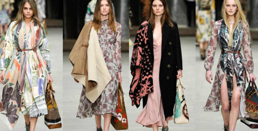 Burberry latest AW14 Collection