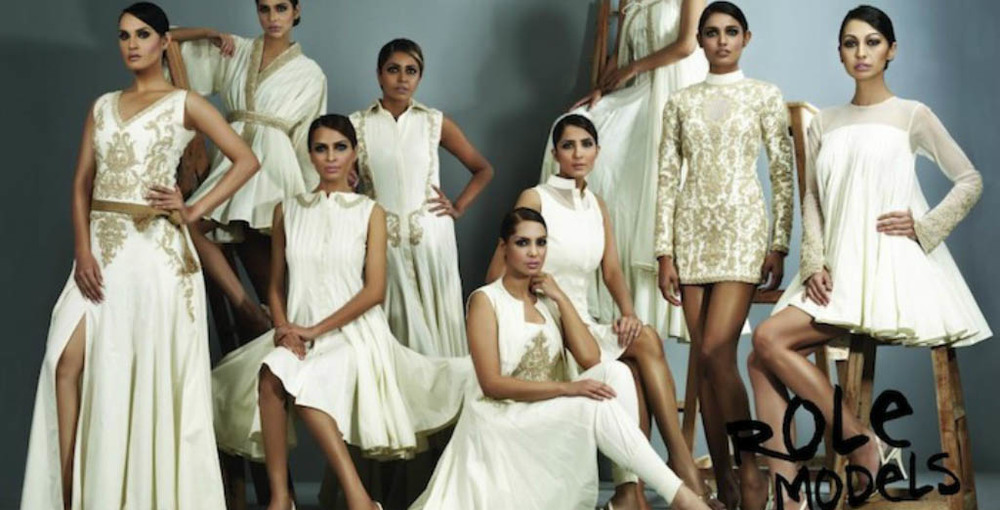 Inspired by a Pakistani fashion designer & made in London