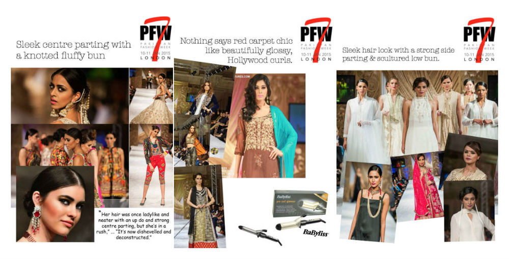 Runway hair styles at Pakistan Fashion Week PFW7