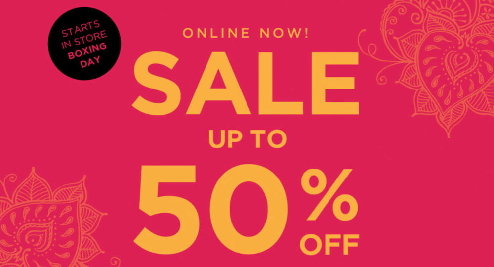 Boxing Day sale at Accessorize