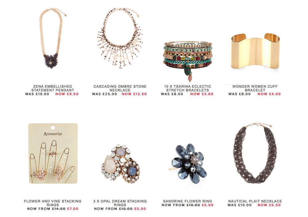 Accessorize online sale