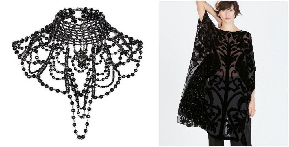 River Island accessory & Zara kaftan