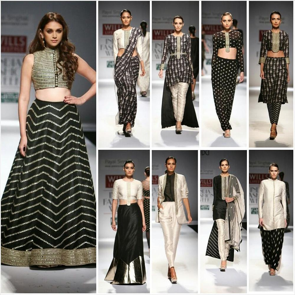 Payal Singhal at Wills Lifestyle India Fashion Week