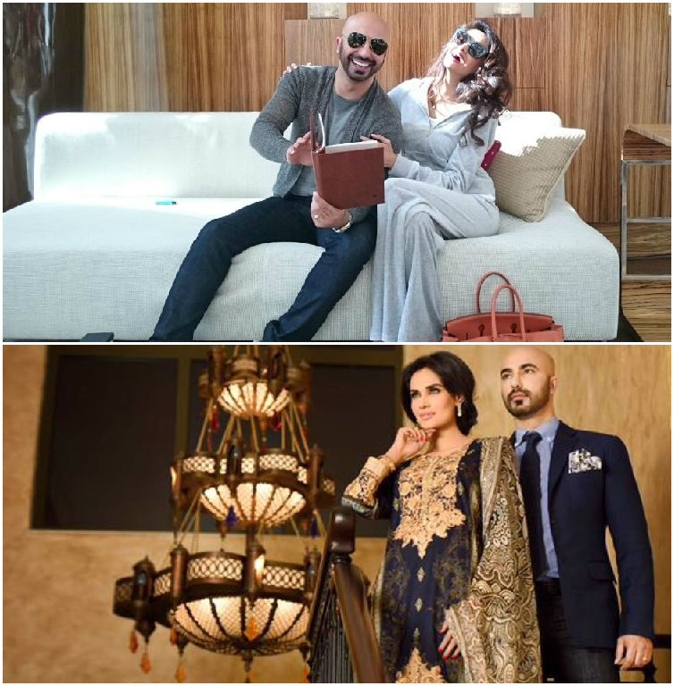 HSY & Mehreen Khan dress up & dress down