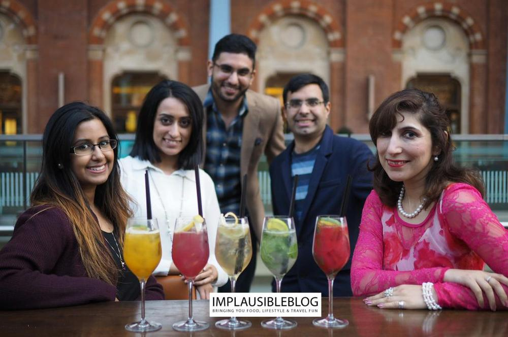 Safeera Sarjoo, Sara K, Imaad of The London Nikah, Farrukh and Shuggy from Implausible blog.