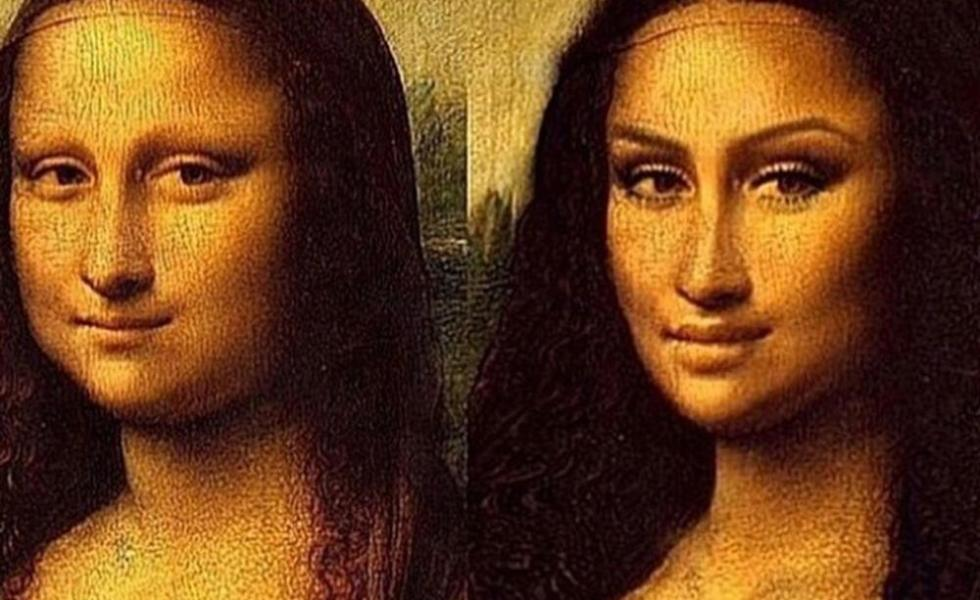 Mona Lisa's  Before & After Make-Over