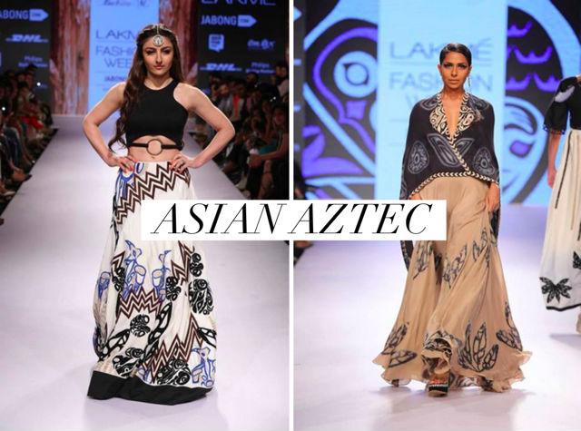 Asian Aztec Lengha Suits
