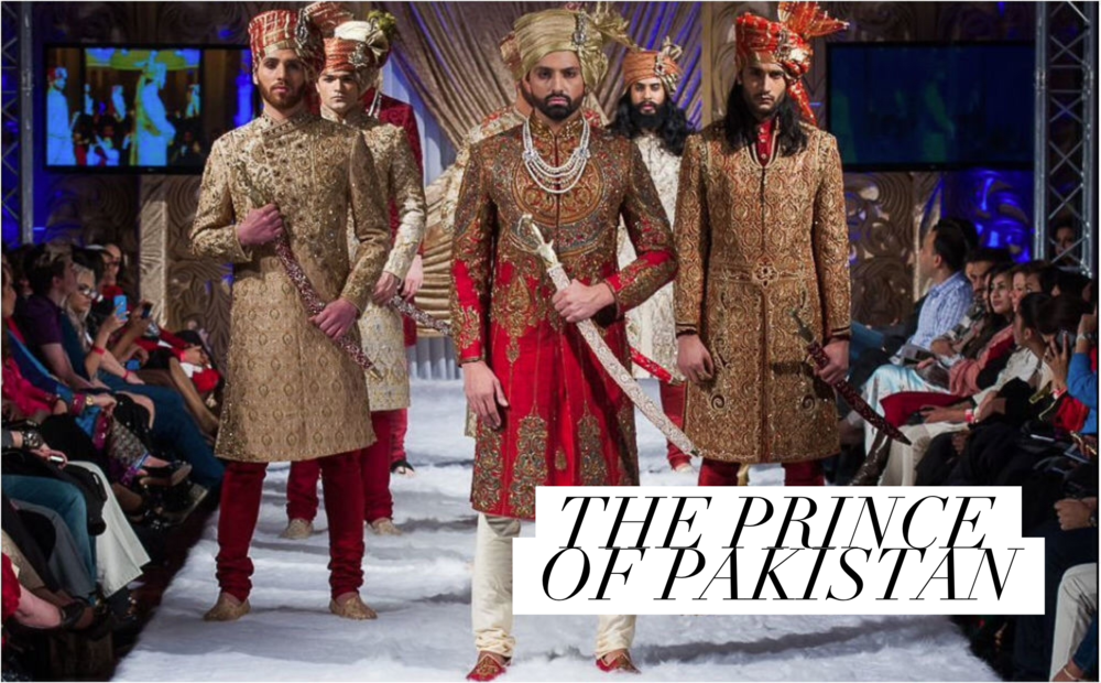 Ahsan at Pakistan Fashion Week