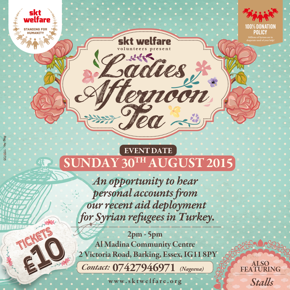 Ladies Afternoon Tea Party