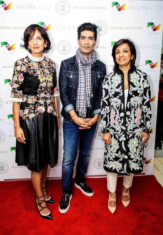 L to R - Shalni Arora, wife of B & M CEO Simon Arora & Shakiba Rangoonwala, wife of Asif Rangoonwala.jpg