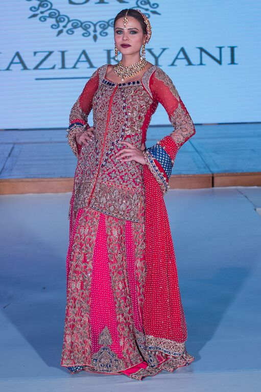 Shazia Kiyani at Pakistan Fashion Week London #PFW8
