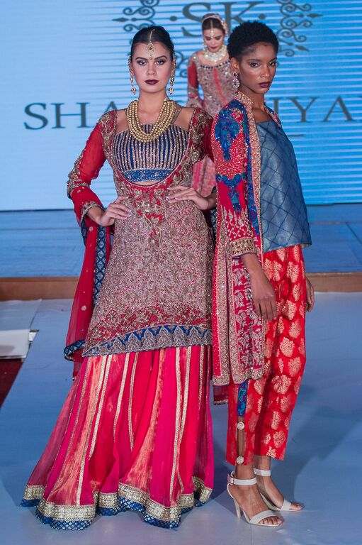 Shazia Kiyani at Pakistan Fashion Week London #PFW8 Spring & Summer bridal trends 2016