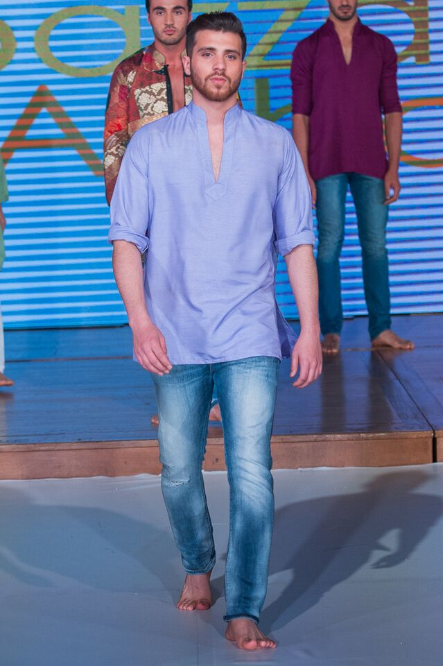 Moazzam Abbas at Pakistan Fashion Week London #PFW8 Spring & Summer Menswear & formal trends 2016